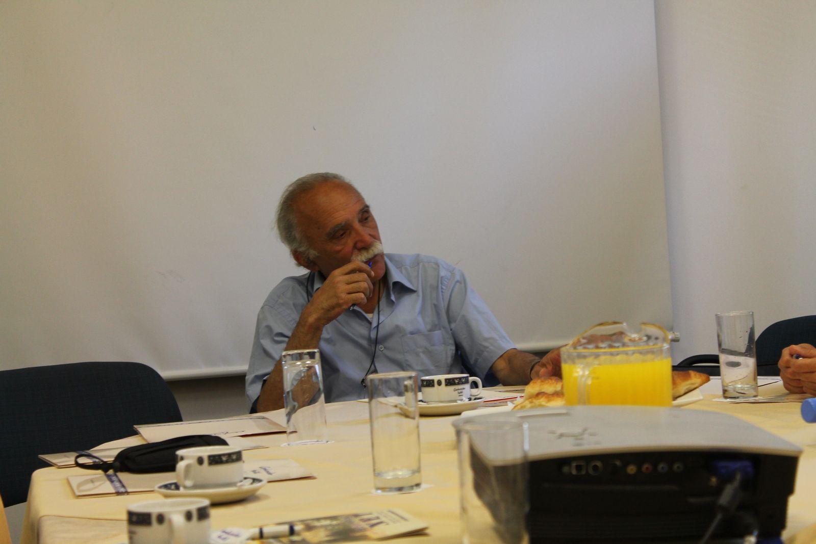 Michel Warschawski le grand militant de la Paix et opposant à l'occupation de la Palestine