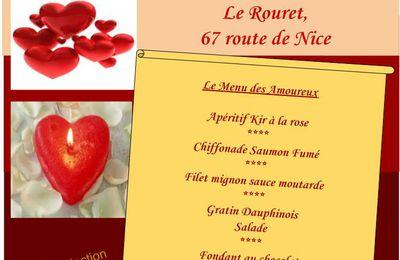 St Valentin Vendredi 14 Février 2020