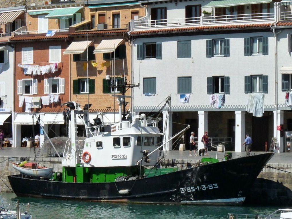 KIZKIZA'KO AMA  , dans le port de San Sébastien (Espagne)