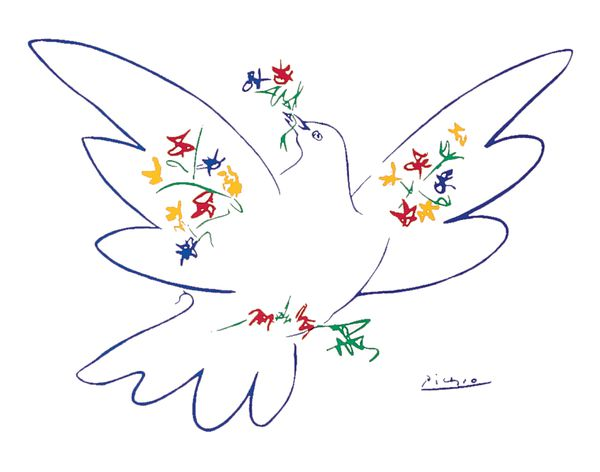 Dove of peace... Picasso