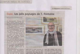 revue de presse Thierry Fontaine