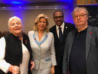 PHOTOS: L'émouvant discours de Line Renaud à l'ONU