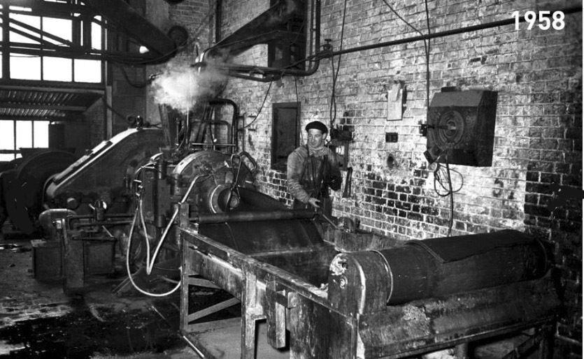 Album - le village de Clairoix (Oise), l'usine de la soie, la centrale électrique et l'usine d'englebert