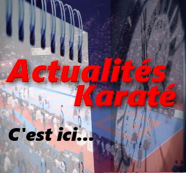 Actualités Karaté