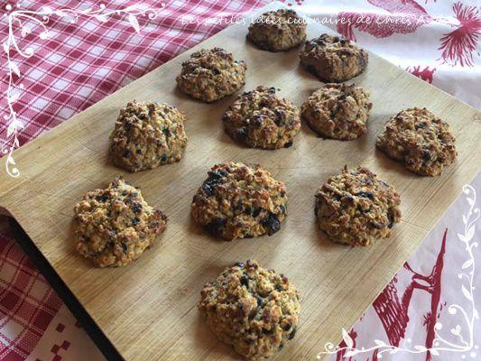 Cookies sains sans beurre ni sucre