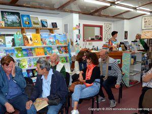 Causerie autour du dernier livre de Nicolas Kurtovitch à la librairie Calédo Livres