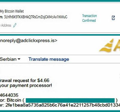 My No49 Withdrawal proof from AdClickXpressCrypto