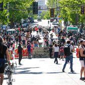 """Mort de George Floyd : la """"zone autonome"""" de Seattle qui énerve Donald Trump"""