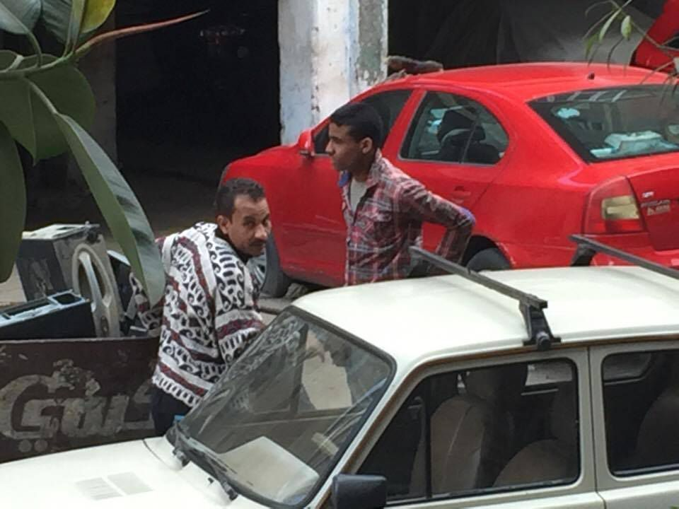 Vies d'ordures Mokattam Zabaleen recycling pigs les chiffoniers du Caire