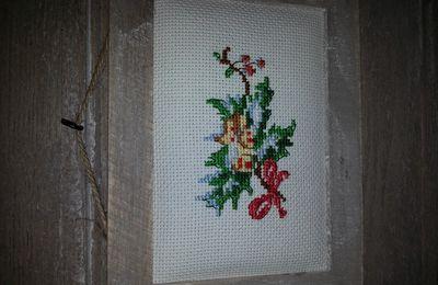 Petits motifs de Noël (Les Brodeuses Parisiennes) : petit village (motif 4/5)
