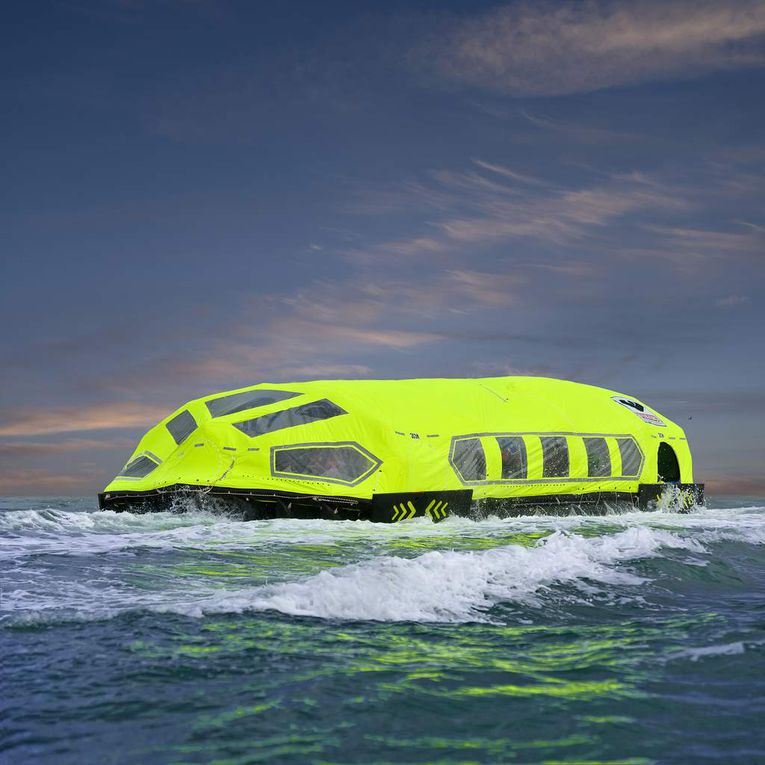Torqeedo provides electric propulsion for new Viking LifeCraft