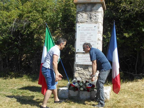 Lambruisse: D'émouvantes commémorations ont eu lieu à Lambruisse