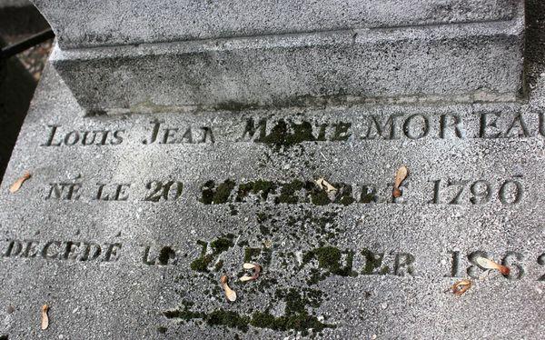 Tombe de Gustave Moreau. Cimetière Montmartre.