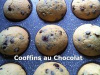 Cooffins au Chocolat