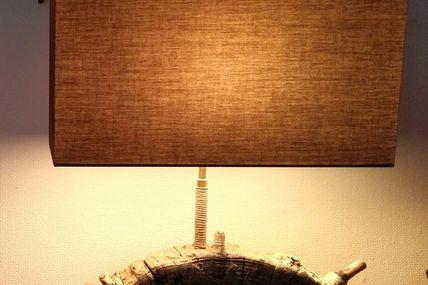 1/2 tranche en bois flotté naturelle