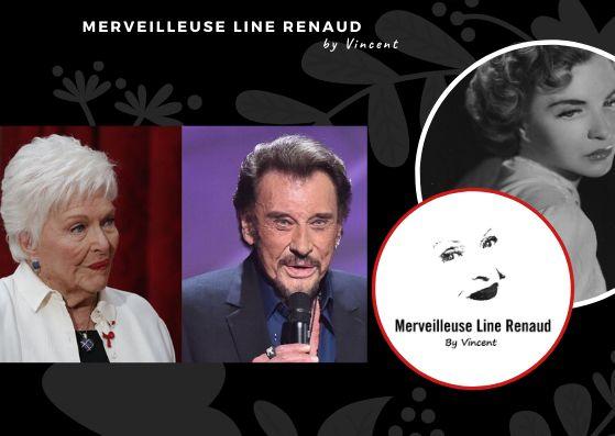 PRESSE WEB: Le Figaro - Succession de Johnny : Line Renaud regrette «la boue qui éclabousse son décès»