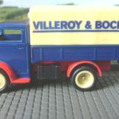 FASCICULE N°44 FORDSON 7 CV TRUCK CORGI 1/50 VILLEROY ET BOCH - car-collector.net