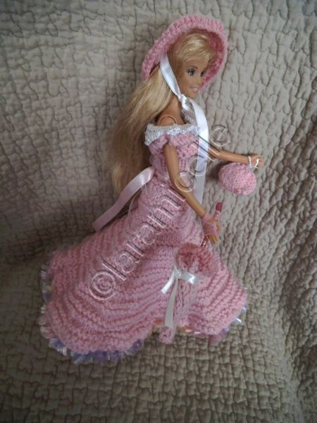 tutos gratuits barbie :les robes de princesse