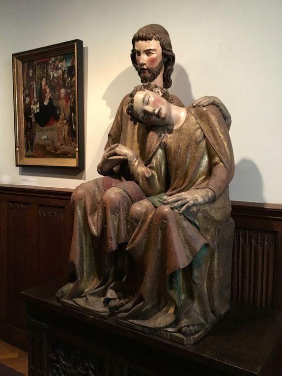 Christus-Johannes groep, Meester Heinrich von Konstanz, ca. 1280-1290 [?]