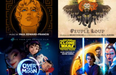 Les nominations musicales des 48èmes Annie Awards