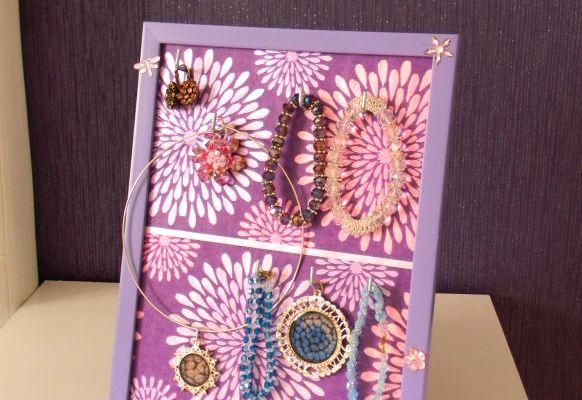 DIY Porte-bijoux de chevet en récup' (upcycling)