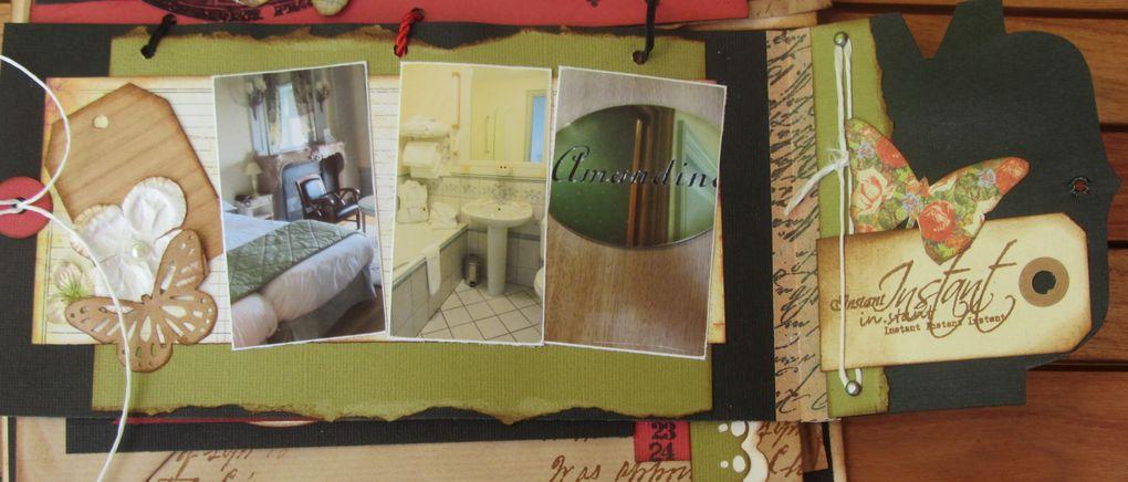 Mini fait lors d'un cours avec Valérie Portais... escapade au Château des Avenières - Septembre 2012...
