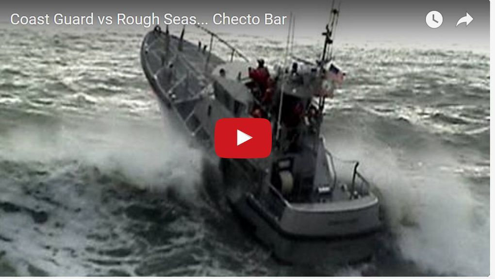 VIDEO - Coast Guard 47' lifeboats vs giant waves !