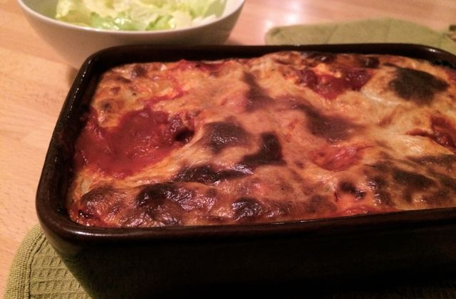 Cannelloni de boeuf et potimarron
