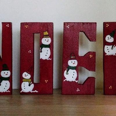 4 lettres pour Noël autre style