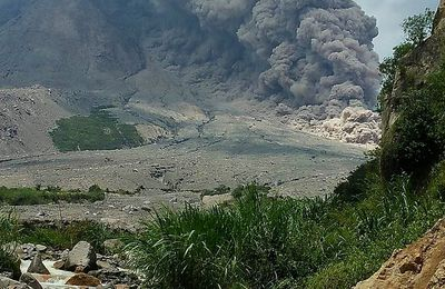 Sinabung and Suwanosejima activity - lahars in the Philippines and earthquakes in the Aegean Sea