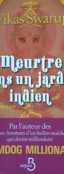 Un roman-puzzle Indien à lire...