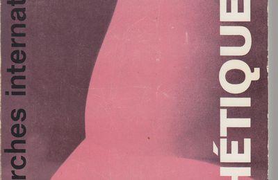 M. Lifschits : L'esthétique historique de Marx et Engels.