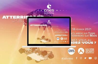 Mission Mars 2020 - Vivez en direct l'Atterrissage du Rover Perseverance