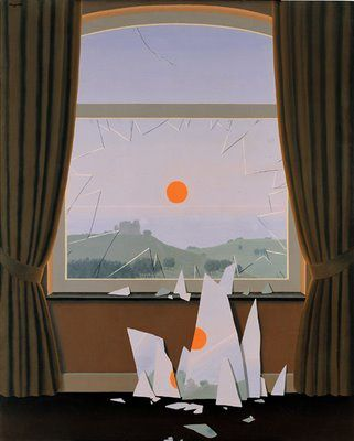 """Magritte, """"Le Soir qui tombe"""""""