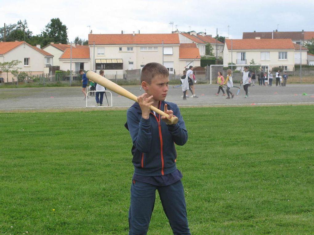 Journée sportive des CM à Torfou