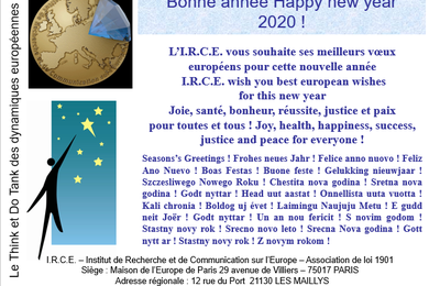 VOEUX 2020 - BEST WISHES