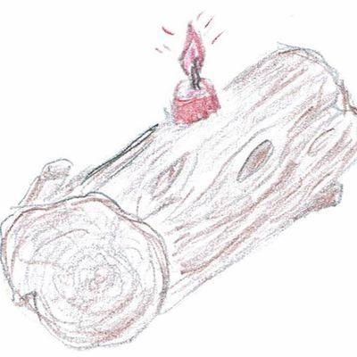 Cacho fio ou cacho fue: la buche de Provence, une tradition oubliée ???