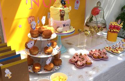 Sweet Table la Belle & la Bête