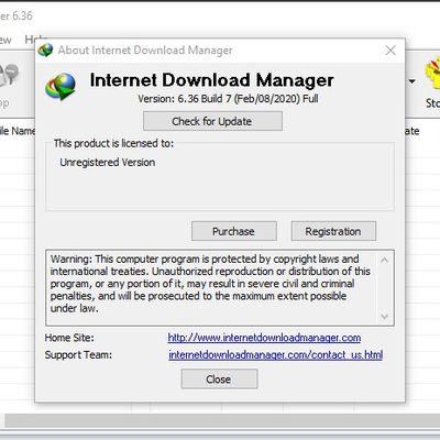 Download IDM terbaru 2020 versi 6.36 Build 7