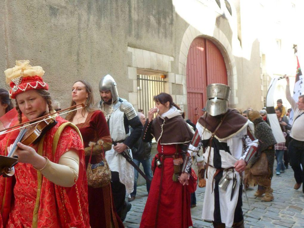 Album - Médiévale-Guérande à Nantes 20 avril 2013