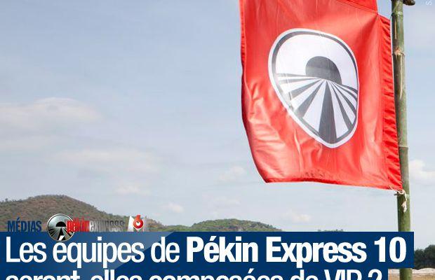 Les équipes de Pékin Express 10 seront-elles composées de VIP ? #M6
