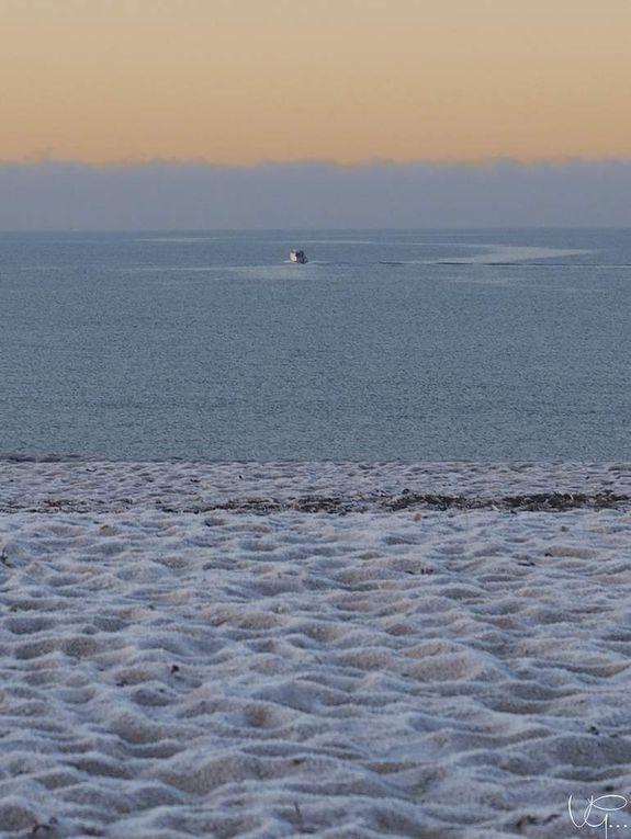La Turballe - des news - 22 - Quand la plage est de glace