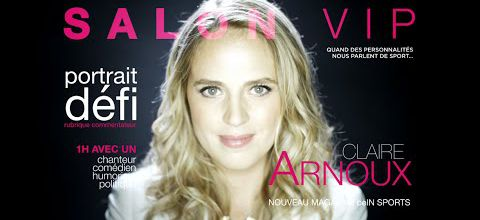 """""""Salon VIP"""", nouveau magazine présenté par Claire Arnoux dès ce samedi sur beIN SPORTS"""
