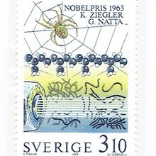 Karl ZIEGLER - Giulio NATTA, Prix Nobel de Chimie en 1963