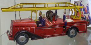Exposition au Musée du jouet à Colmar: les pompiers