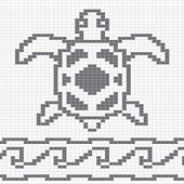 WitchWolfWeb Creations: Sea Turtle Chart Remix