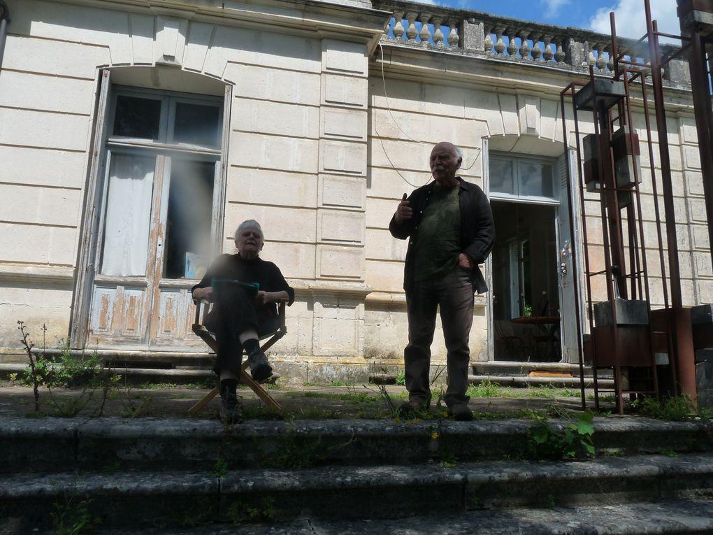 ouverture de la Promenade contée par Alain Piot Di Massimo et Moniqa Ray-Bool