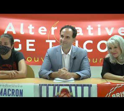 Pour l'alternative #rougetricolore : la conférence de presse de Fadi Kassem et du PRCF #FK2022