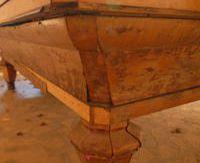 Superbe Billard Napoléon III restauré dans notre atelier