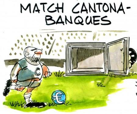 Eric Cantona ne fera pas sauter la banque...ou lorsque l'image vire du rêve au cauchemar